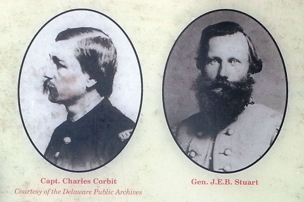 Civil War Corbit and Stuat