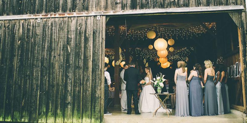 umills wedding exterior
