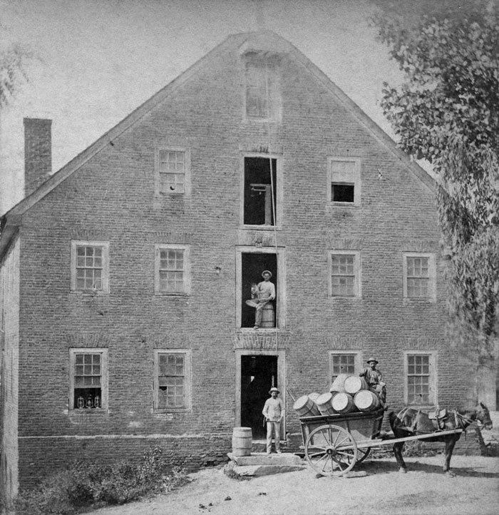 UMH grist mill 1881