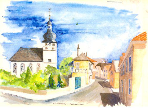 Shriver Green Book Alsenborn Church