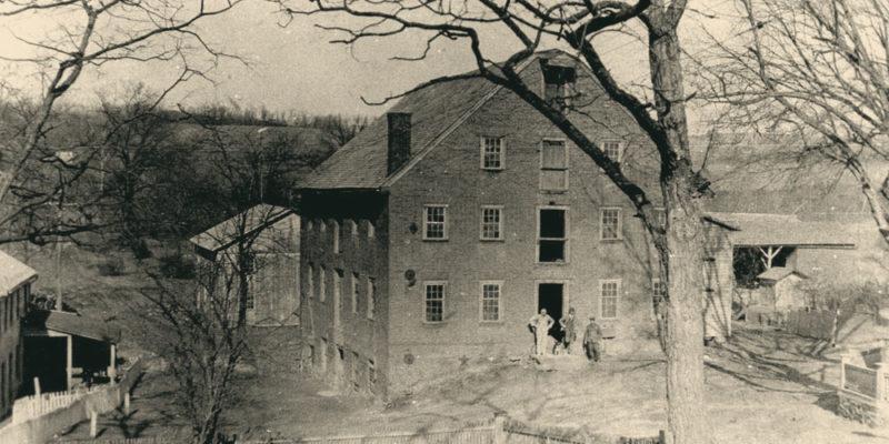 Mill in 1880s