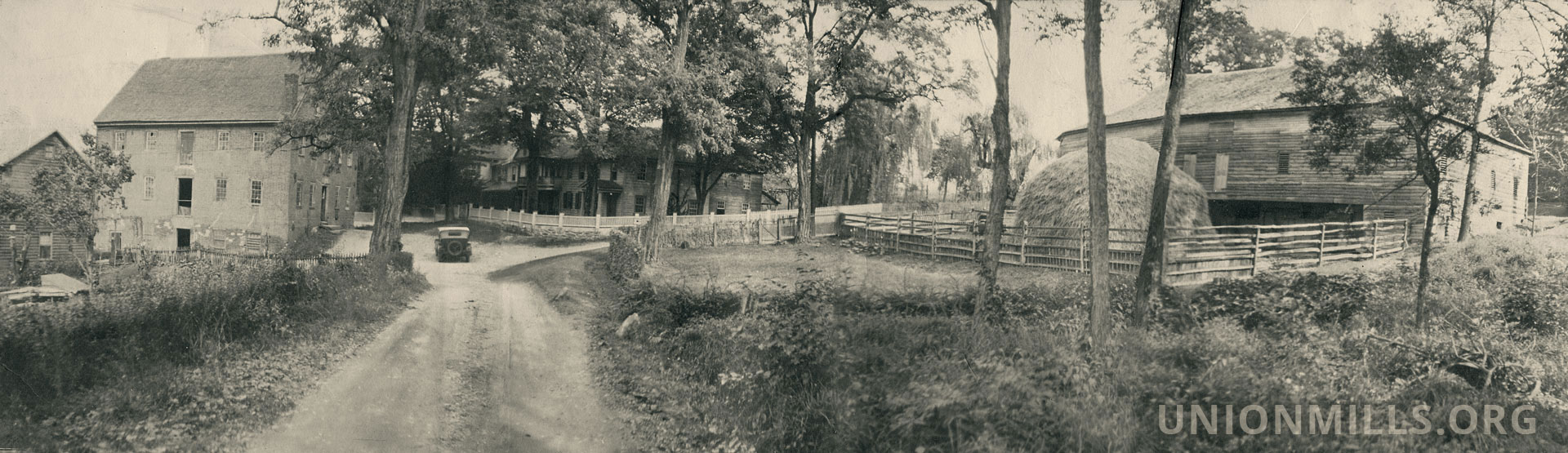 Union Mills panorama