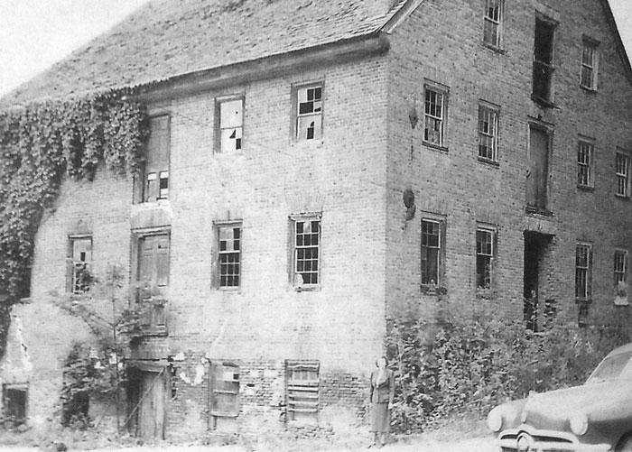 UMH mill before restoration