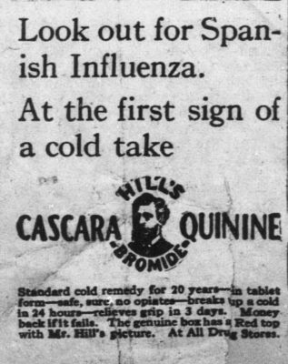 Flu Remedy Advertisement
