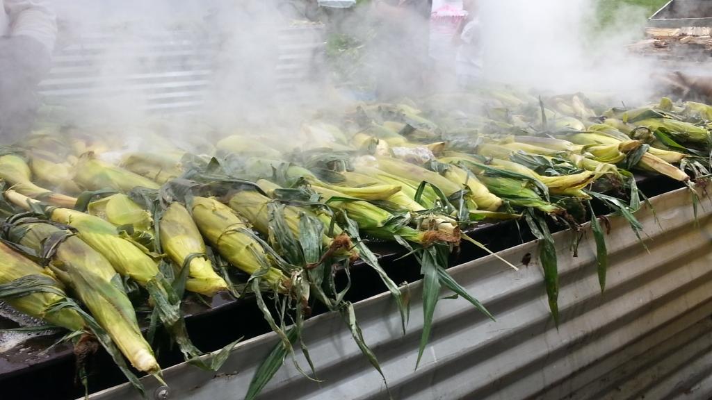 Corn Roasting