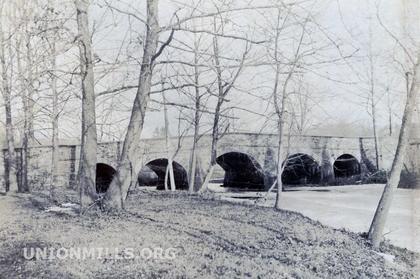 Union Mills Stone Arch Bridge