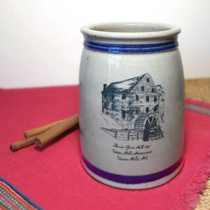 union mills stoneware crock