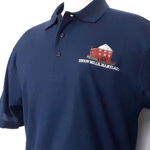 union mills polo shirt