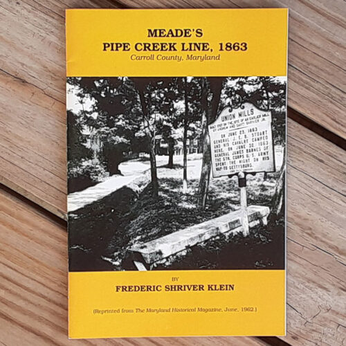 union mills meade's pipe creek line book