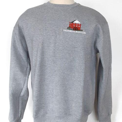 union mills sweatshirt grey