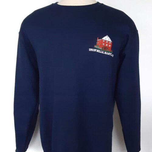 Union Mills sweatshirt navy