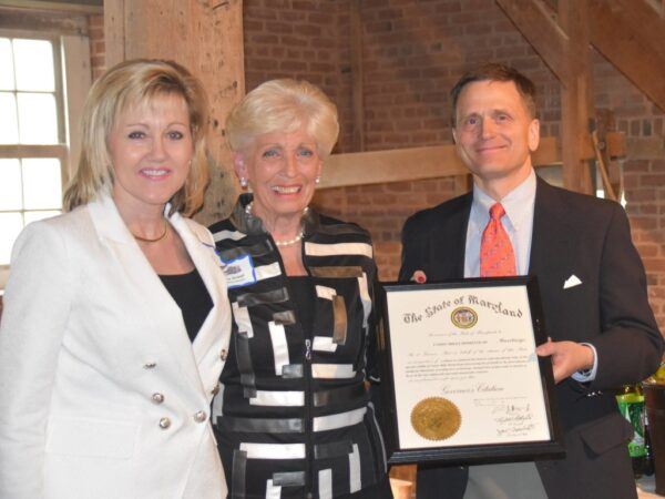 Governor's Citation Presented in Grist Mill
