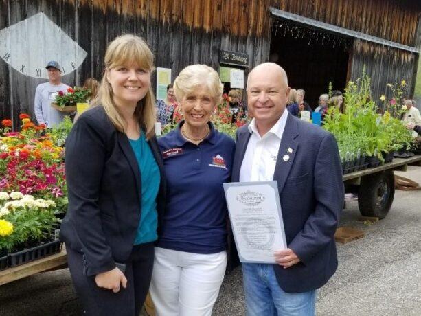 Union Mills Homestead's Executive Director Retires