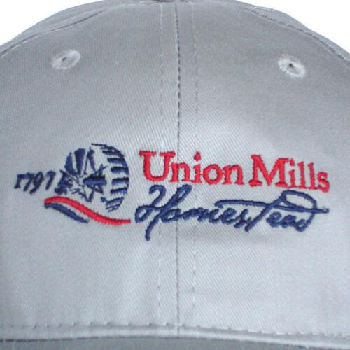 union mills hat grey closeup