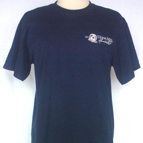 union mills tshirt navy